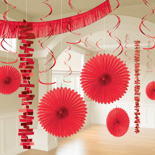 Apple Red Room Decoration Kit (18)